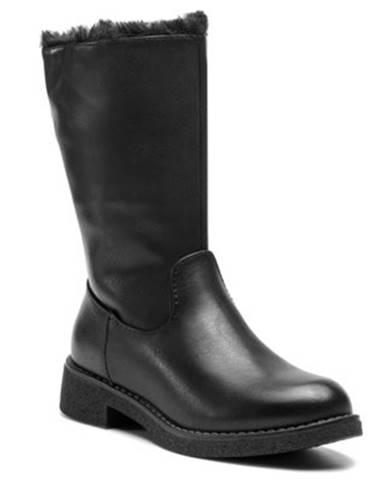 Členkové topánky  WS16371-15 koža ekologická