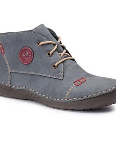 Členkové topánky  52540-14 nubuk