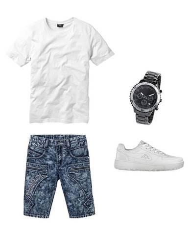 Regular Fit džínsové bermudy