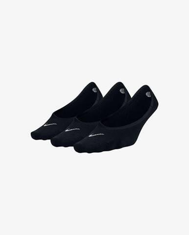 Nike Ponožky 3 páry Čierna
