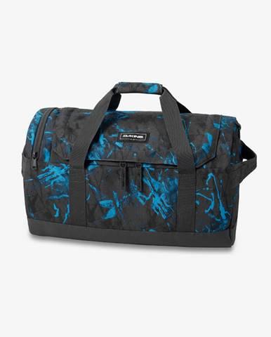 EQ Cestovná taška Čierna Modrá