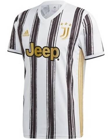 Tričká s krátkym rukávom  Juventus Home Jersey 2021