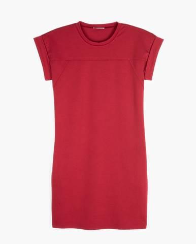 Tričkové šaty s vreckami