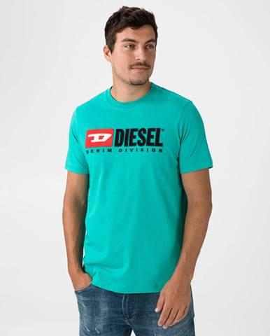 Just Division Tričko Modrá Zelená