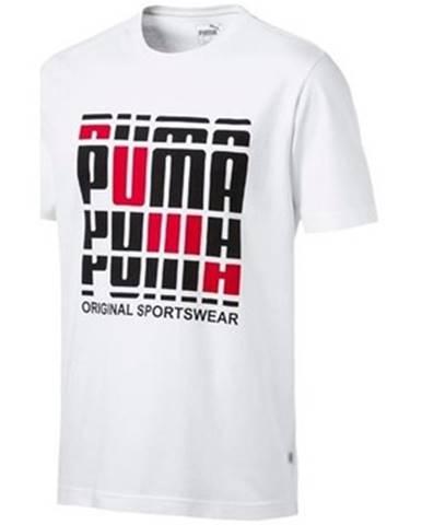 Tričká s krátkym rukávom Puma  Logo Tee