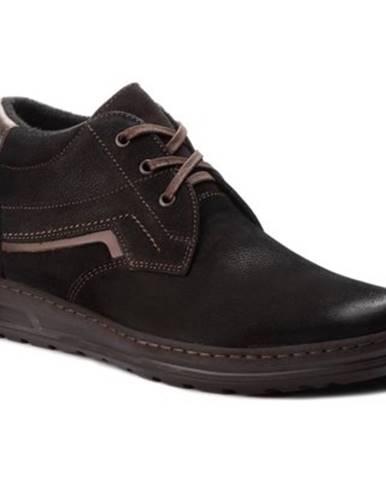 Šnurovacia obuv Lasocki for men 292 nubuk,koža(useň) lícová