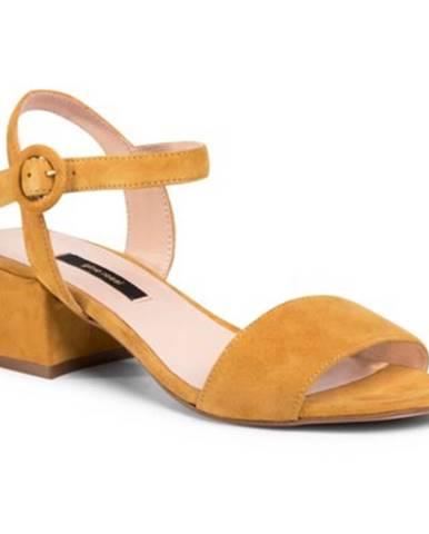 Sandále Gino Rossi A45415 koža(useň) zamšová
