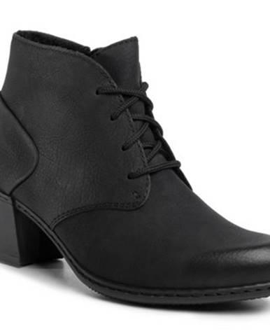 Šnurovacia obuv  Y2132-00 nubuk,koža(useň) lícová