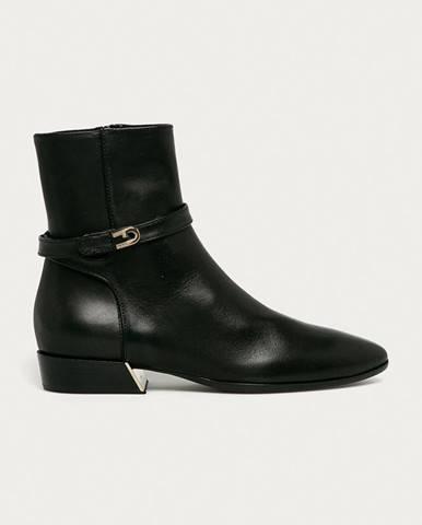 Furla - Kožené členkové topánky Grace