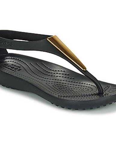 Sandále Crocs  CROCS SERENA METALLIC BAR FP W