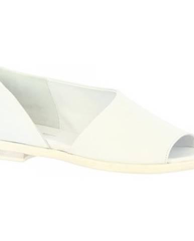 Sandále  LISA 01 NAPPA OFF WHITE