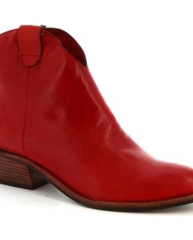 Čižmičky Leonardo Shoes  Z122 AMERICA ROSSO