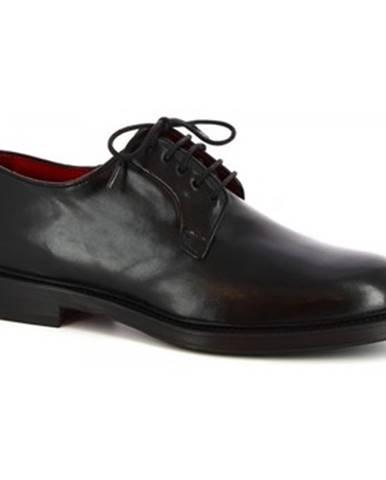 Derbie Leonardo Shoes  07266 MONTECARLO NERO