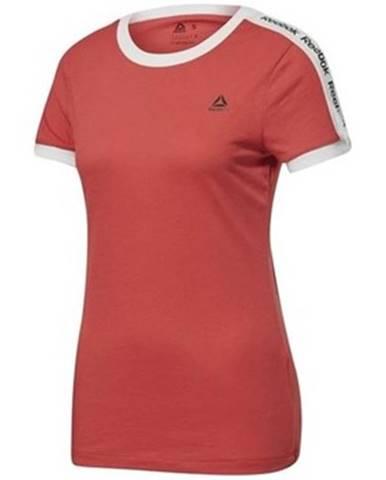 Tričká s krátkym rukávom Reebok Sport  Linear Logo Tee