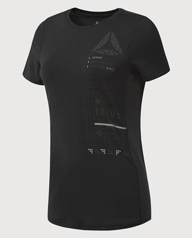 Tričko  Activchill Graphic Tee Čierna