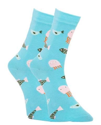 Veselé ponožky Dots Socks ryby