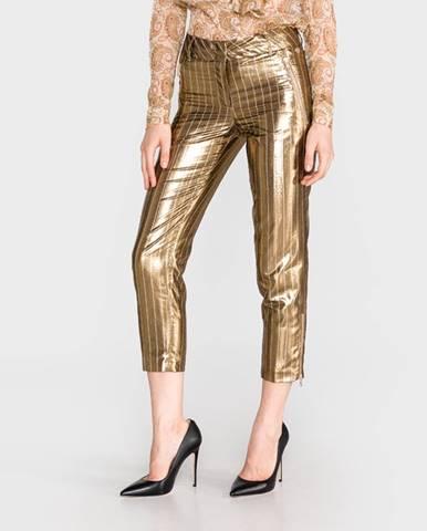 TWINSET Nohavice Zlatá