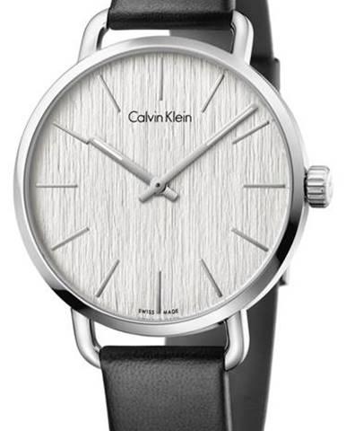 Calvin Klein Even Hodinky Čierna