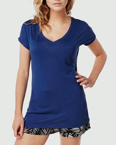 Tričko O´Neill LW JACKS BASE V-NECK T-SHIRT Modrá