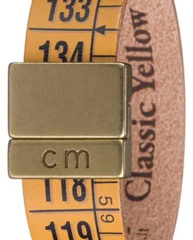Il Centimetro Classic Yellow Náramok Žltá