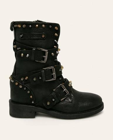 Pepe Jeans - Členkové topánky Maddox Colors