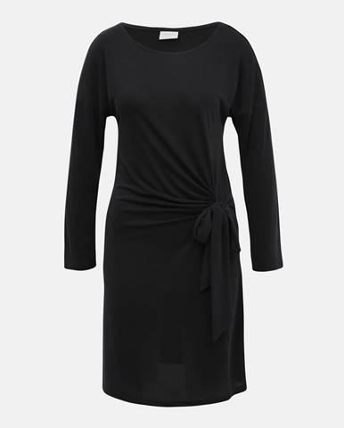 Tmavošedé šaty VILA Atetsy