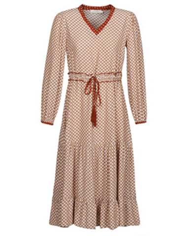 Dlhé šaty Cream  MALOU