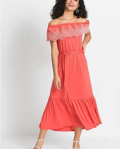 Šaty Carmen so šnúrkou