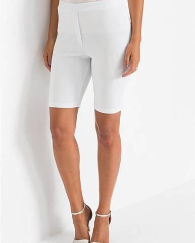 Krátke elastické nohavice
