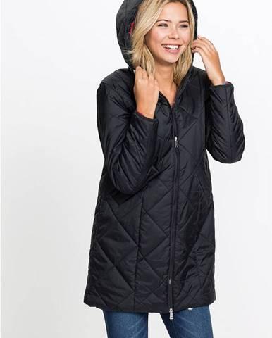 Prešívaný kabát 2-farebný