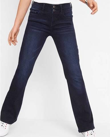 Strečové džínsy so shaping efektom BOOTCUT