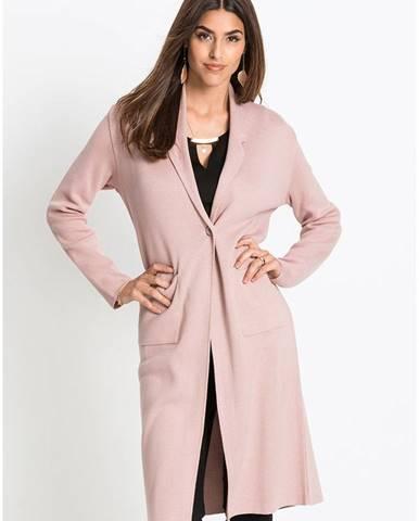 Pletený kabát
