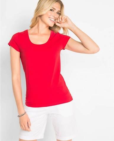 Strečové tričko s krátkym rukávom