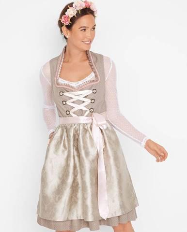 Krojové šaty so stojačikom