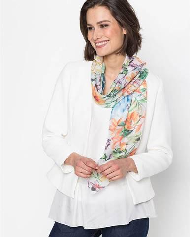 Kvetovaná šatka