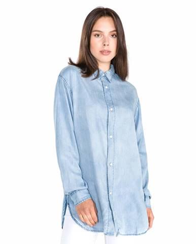 Replay Košeľa Modrá