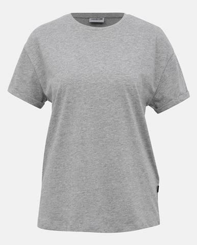 Šedé basic tričko Noisy May Brandy