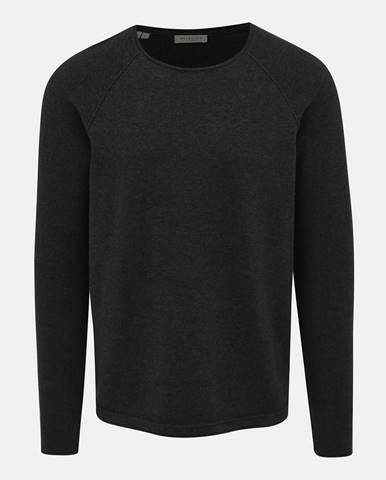 Tmavošedý sveter Selected Homme Carter