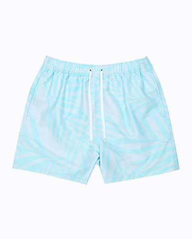 Plavecké šortky s potlačou