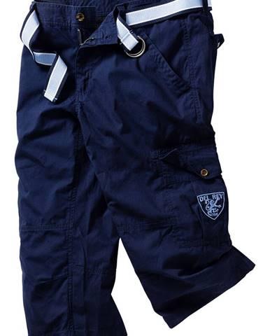 3/4-ové nohavice s opaskom Loose Fit