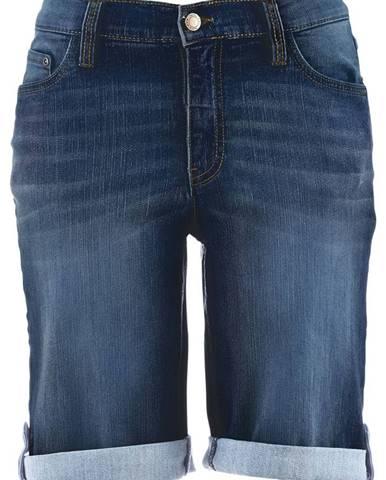 Strečové džínsové šortky