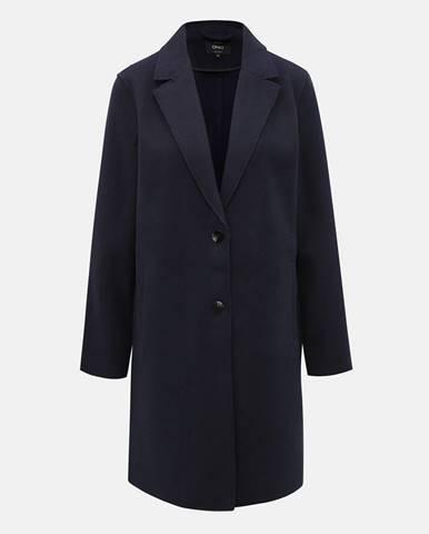 Tmavomodrý kabát ONLY Carrie