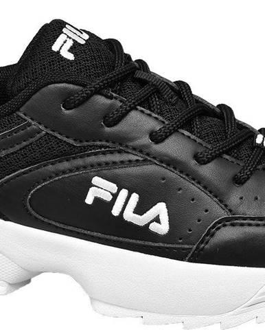 Fila - Čierne chunky tenisky Fila