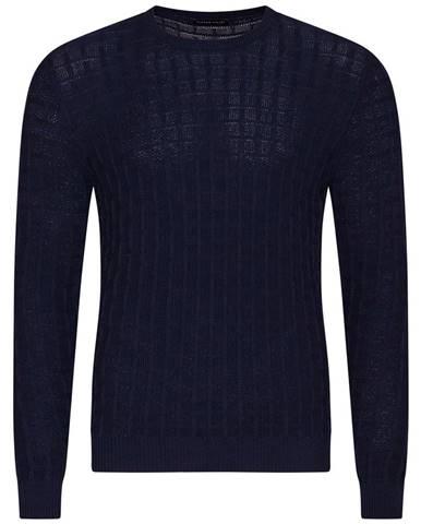Pánsky sveter  modrá