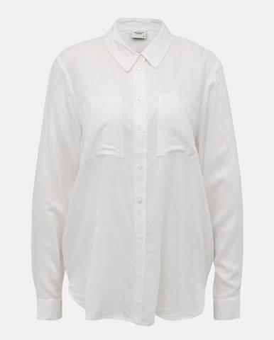 Biela košeľa Jacqueline de Yong Tom