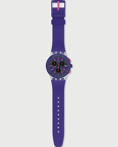 Hodinky Swatch Purp-Lol Modrá