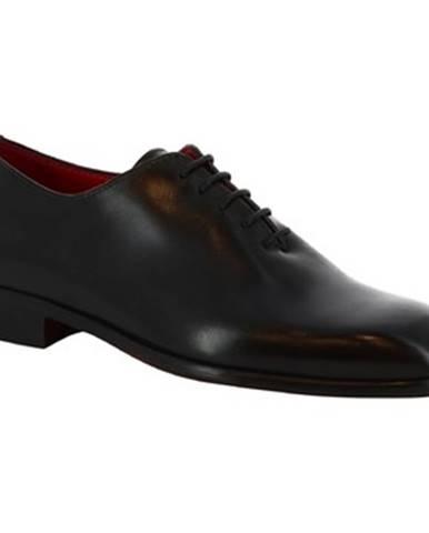 Derbie Leonardo Shoes  990 V.NERO