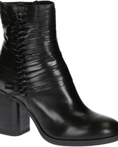 Čižmičky Leonardo Shoes  257212 NERO