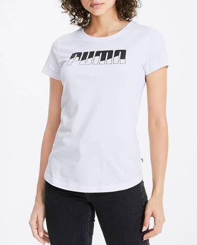 Tričko Puma Rebel Graphic Tee Biela