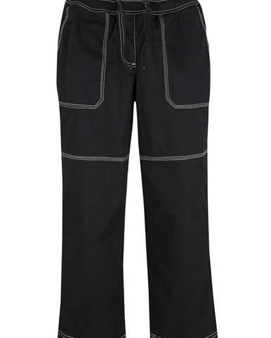 Capri nohavice s kontrastnými švíkmi a pohodlným pásom